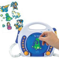 CD a MP3 přehrávač pro děti, X4-Tech Bobby Joey