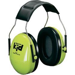 Dětské chrániče sluchu Peltor H510AK-442-GB, 27 dB, neonově zelená