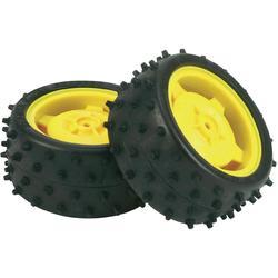 Zadní ráfek s pneumatikami Tamiya (58340), 2 ks
