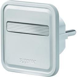 Plochá zásuvka Sygonix 33127X, 230 V/50 Hz, bílá