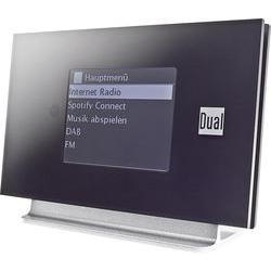 Internetové rádio Dual Radio Station IR 3A, černá, stříbrná