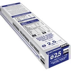 110 elektrody Rutile E6013, Ø 2,5 mm 110 ks (Ø x d) 2.5 mm x 350 mm GYS 085138