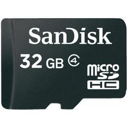 Paměťová karta Micro SDHC 32 GB SanDisk Class 4