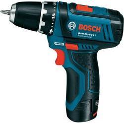 Aku vrtací šroubovák Bosch GSR 10,8 -2-LI 0601868109, 10.8 V, 2 Ah, Li-Ion akumulátor