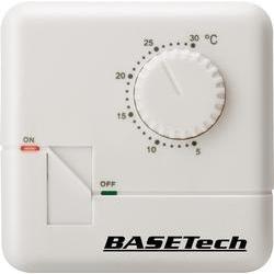Pokojový termostat Basetech MH-555C, denní program, na povrch, 5 až 30 °C
