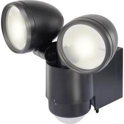 Venkovní LED reflektor s pohybovým čidlem Renkforce Cadiz, 1435592, neutrálně bílé světlo, 2 W, černá