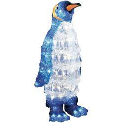 Akrylátový LED tučňák Konstsmide, 96 LED