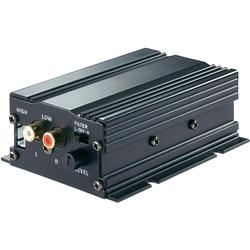 Koncový mini zesilovač Basetech AP-2100, 2x 50 W
