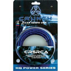 Cinch kabel Crunch, 5 m, 2 x Cinch zástrčka ? 2 x Cinch zástrčka