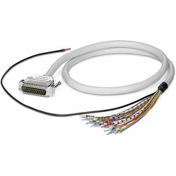 Cable CABLE-D-37SUB/M/OE/0,25/S/2,0M Phoenix Contact CABLE-D-37SUB/M/OE/0,25/S/2,0M 2926603, 1 ks