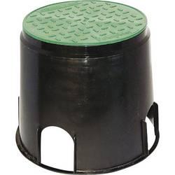 Montážní box do země Heitronic 21036, černá, zelená