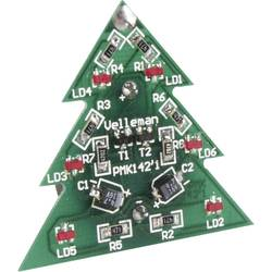 SMD vánoční stromeček Velleman MK142, 3 V (stavebnice)