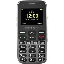 Primo by DORO 218 telefon pro seniory tlačítko SOS černá