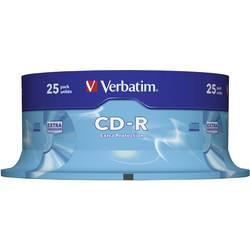 CD-R 80 700 MB Verbatim 43432 25 ks vřeteno