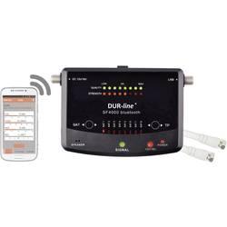Měřič a vyhledávač satelitního signálu DVB-S/S2, DUR-line SF 4000 BT ovládaný přes smartphone