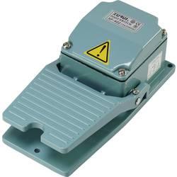 Nožní/ruční tlačítko TRU COMPONENTS XF-402, 250 V/AC, 15 A, 1 spínací kontakt, 1 ks