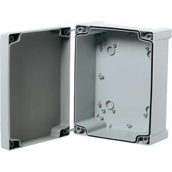 Nástěnné pouzdro ABS Fibox TA292411T, (d x š x v) 289 x 239 x 107 mm, šedá (TA292411T)