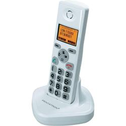 Bezdrátový domácí telefon TF04, 200 m, bílá