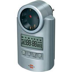 Spínací zásuvka s časovačem Brennenstuhl, 1507500, 3680 W, IP20, digitální, týdenní
