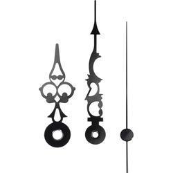 Hliníkové ručičky 51 x 76 x 70 mm, černá