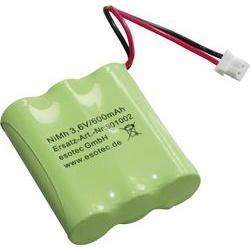 Akupack NiMH 3,6 V / 600 mAh