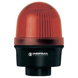 Bleskové světlo Werma, 209.120.68, 230 V/AC, 30 mA, IP65, červená
