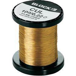 Měděný lakovaný drát CUL, Ø 0 ,10 mm, Block CUL 100/0,10