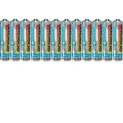 Alkalická baterie Conrad energy, typ AAA, sada 12 ks