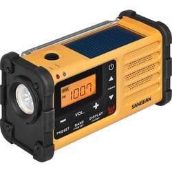 FM outdoorové rádio Sangean MMR-88, černá, žlutá