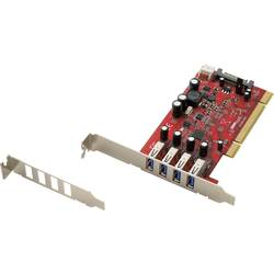 PCI karta USB 3.0 Renkforce RF-1973646, 4 porty