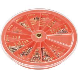 Šroubky pro hodináře a optiky Toolcraft, 7040497, sada 240 kusů